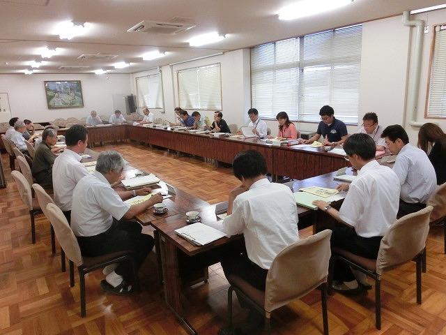 避難所解放エリアを確認 吉原高校の「防災教育推進のための連絡会議」_f0141310_743191.jpg