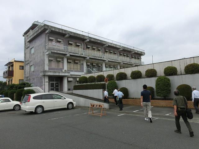 避難所解放エリアを確認 吉原高校の「防災教育推進のための連絡会議」_f0141310_7501189.jpg