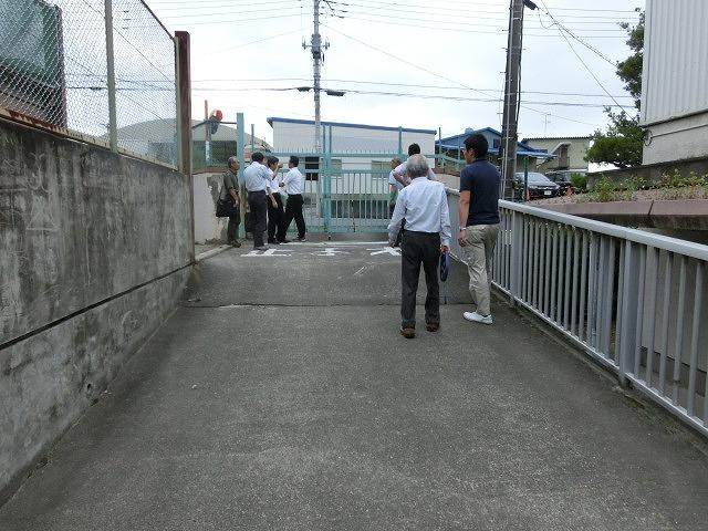 避難所解放エリアを確認 吉原高校の「防災教育推進のための連絡会議」_f0141310_7505615.jpg