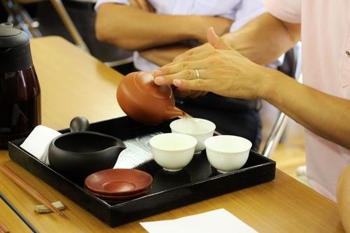 小学校で日本茶講座!_b0220318_21333642.jpg
