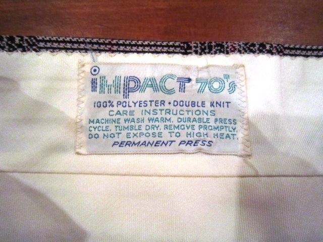 "Used \""1970s SLACKS SHORTS\"" ご紹介_f0191324_972980.jpg"
