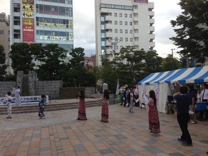 うねめまつり 踊りの練習会_f0259324_2233630.jpg