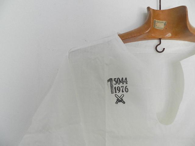 Czeck army sleeping shirts size1 dead stock_f0226051_11582345.jpg