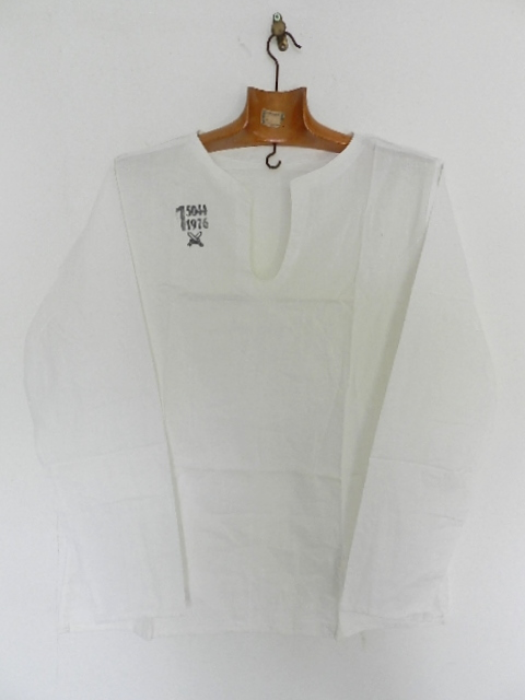 Czeck army sleeping shirts size1 dead stock_f0226051_1158366.jpg