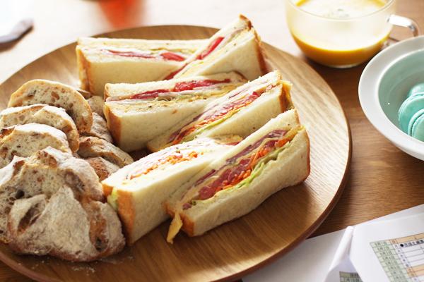 サンドイッチなど_f0149855_10381871.jpg