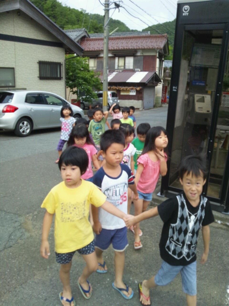 海合宿8 朝のお散歩_c0151262_83228100.jpg