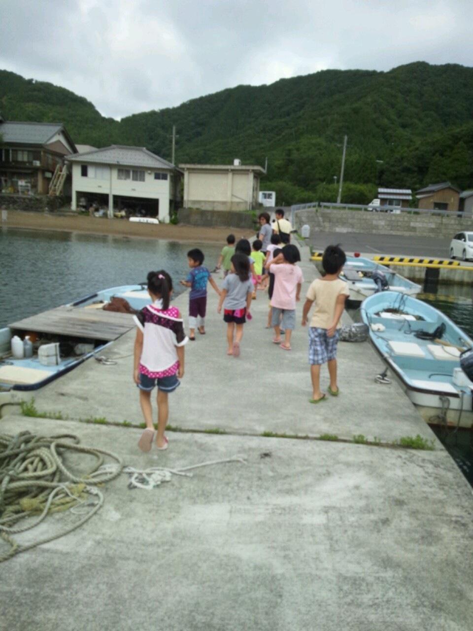 海合宿8 朝のお散歩_c0151262_8332739.jpg