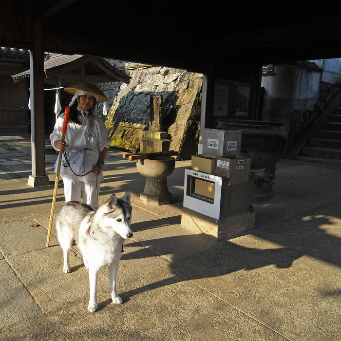 Memory of the second pilgrimage with husky HANA_c0049299_8201923.jpg