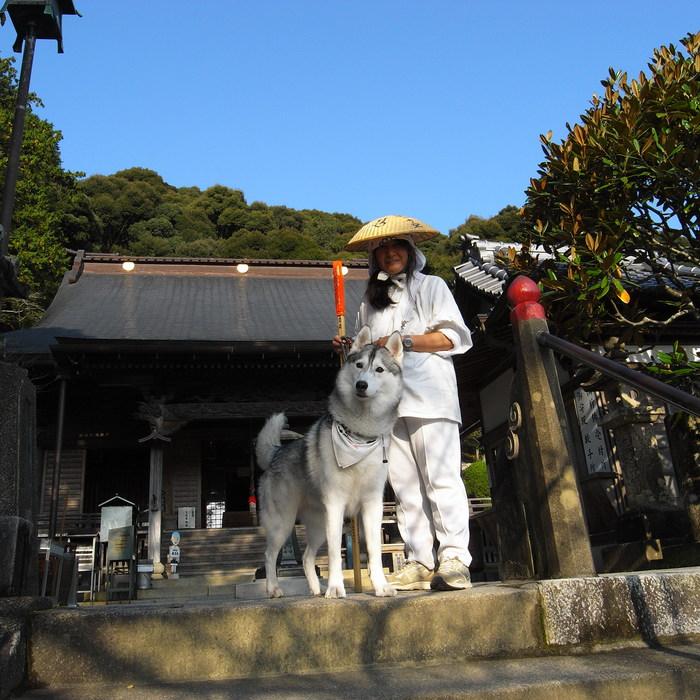 Memory of the second pilgrimage with husky HANA_c0049299_8232964.jpg
