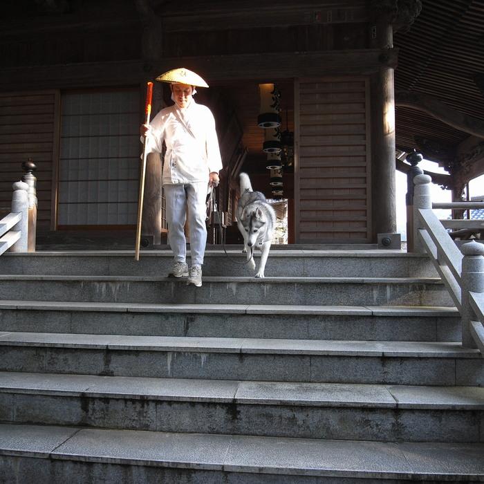 Memory of the second pilgrimage with husky HANA_c0049299_8253656.jpg
