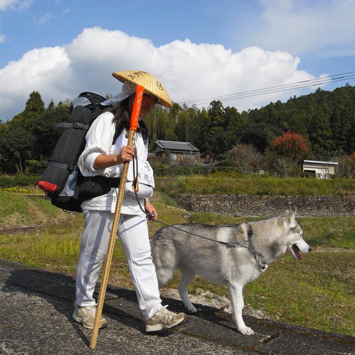 Memory of the second pilgrimage with husky HANA_c0049299_8351399.jpg