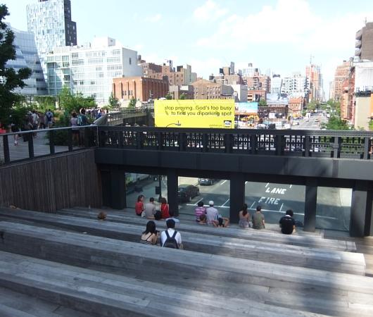 夏のニューヨーク、空中公園ハイラインの様子_b0007805_21341891.jpg