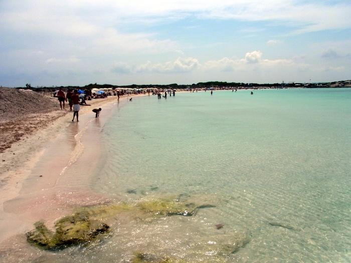フォルメンテーラ島のビーチへ_d0116009_1015676.jpg