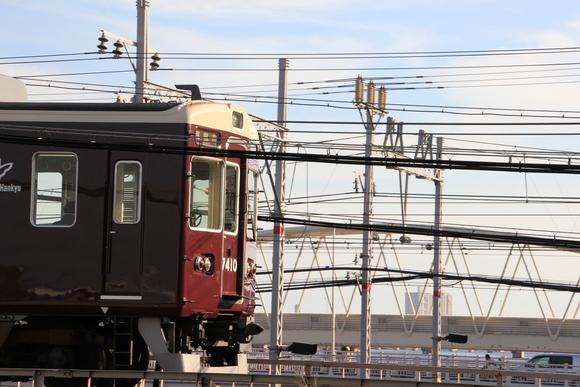 阪急 天神祭看板車 梅田駅_d0202264_21522022.jpg