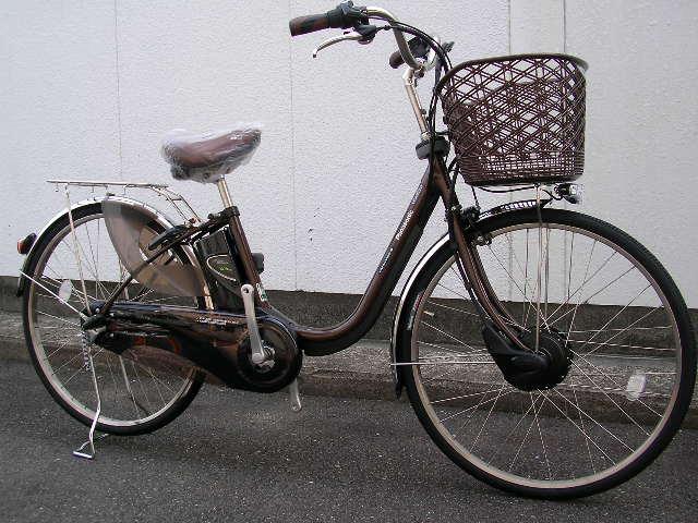 パナソニック/回生充電モデルの電動アシスト自転車特価です!_b0189682_951227.jpg