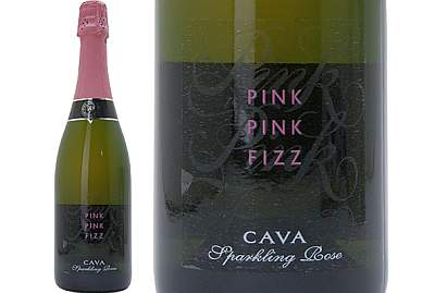 ピンク・ピンク・フィズ カヴァ・ブリュット ロゼ (スペイン・泡)_d0036883_0842100.jpg