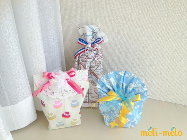 ◆ペーパーナプキンで簡単マチあり袋を作る_f0251032_188375.jpg