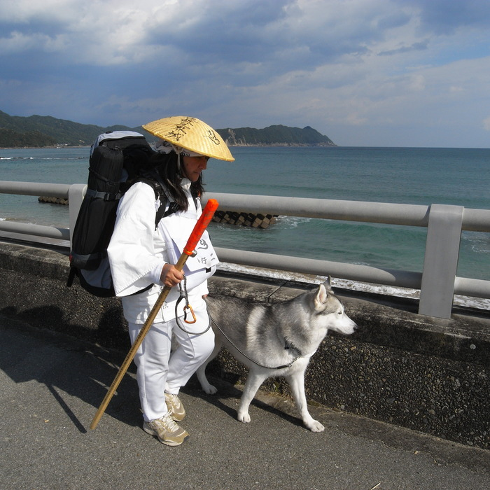 Memory of the second pilgrimage with husky HANA_c0049299_10235894.jpg