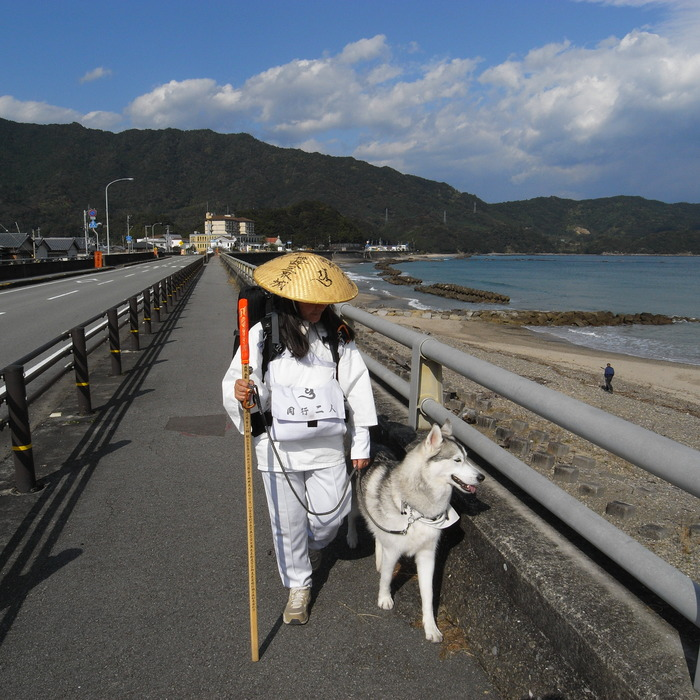 Memory of the second pilgrimage with husky HANA_c0049299_10253339.jpg