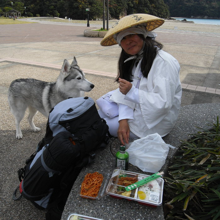 Memory of the second pilgrimage with husky HANA_c0049299_1028302.jpg