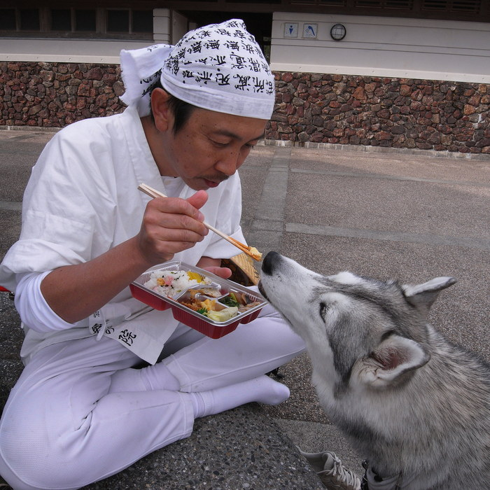 Memory of the second pilgrimage with husky HANA_c0049299_10292017.jpg