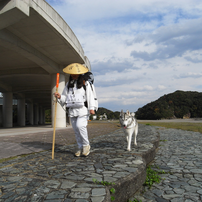 Memory of the second pilgrimage with husky HANA_c0049299_10294765.jpg
