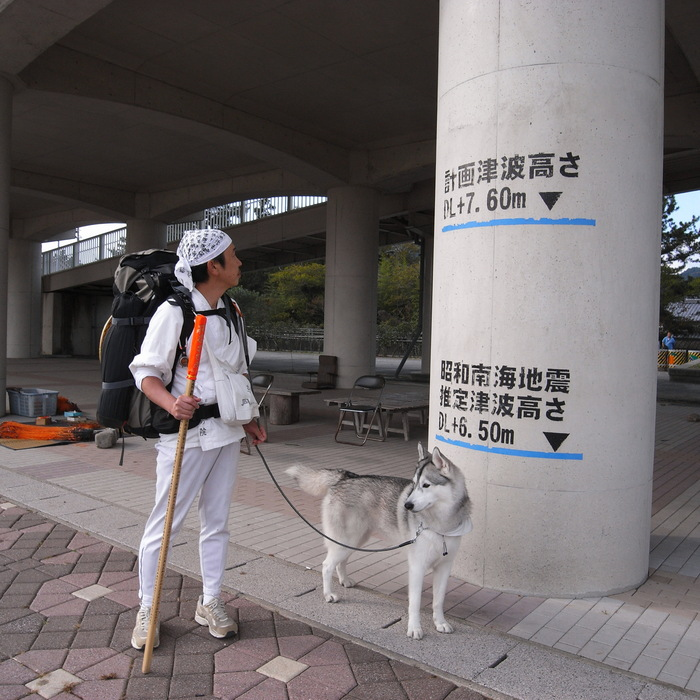Memory of the second pilgrimage with husky HANA_c0049299_1030643.jpg