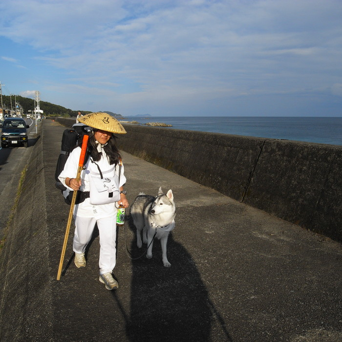 Memory of the second pilgrimage with husky HANA_c0049299_10314376.jpg
