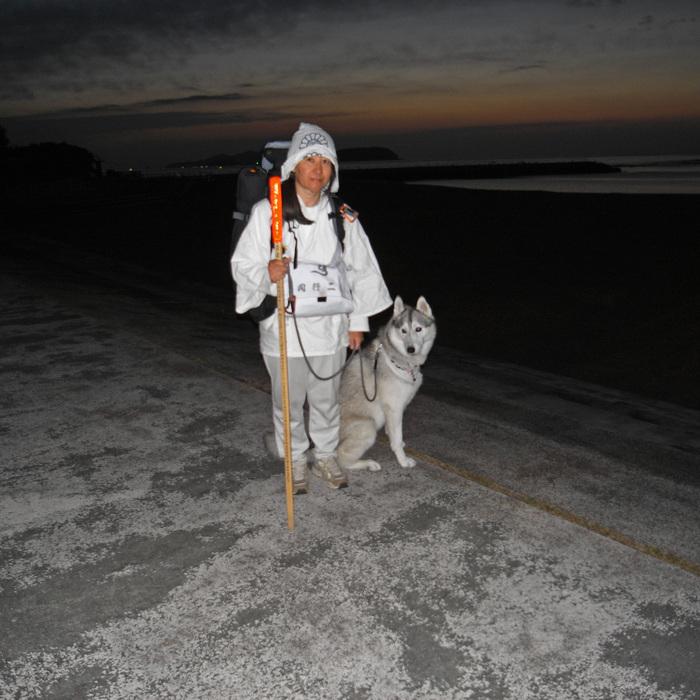 Memory of the second pilgrimage with husky HANA_c0049299_11522245.jpg