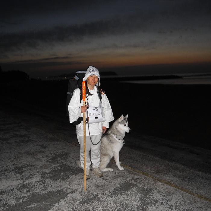 Memory of the second pilgrimage with husky HANA_c0049299_11523330.jpg