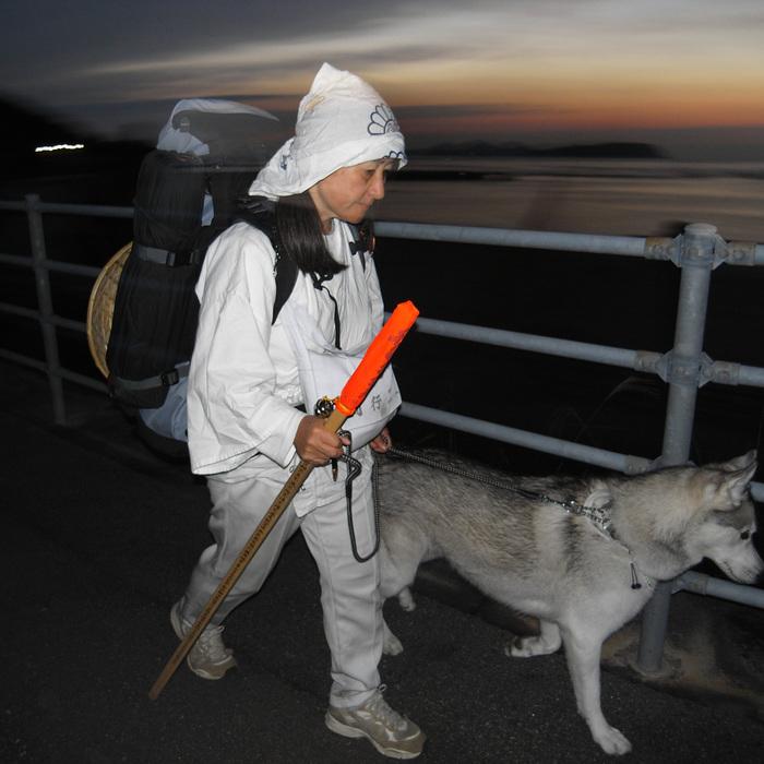 Memory of the second pilgrimage with husky HANA_c0049299_1153018.jpg