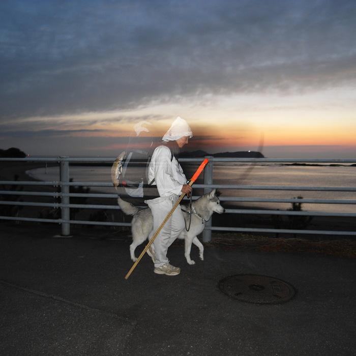 Memory of the second pilgrimage with husky HANA_c0049299_11532067.jpg