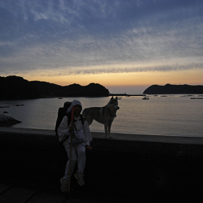 Memory of the second pilgrimage with husky HANA_c0049299_11535919.jpg