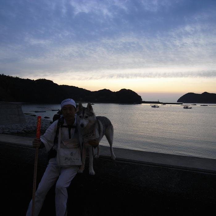 Memory of the second pilgrimage with husky HANA_c0049299_11542159.jpg