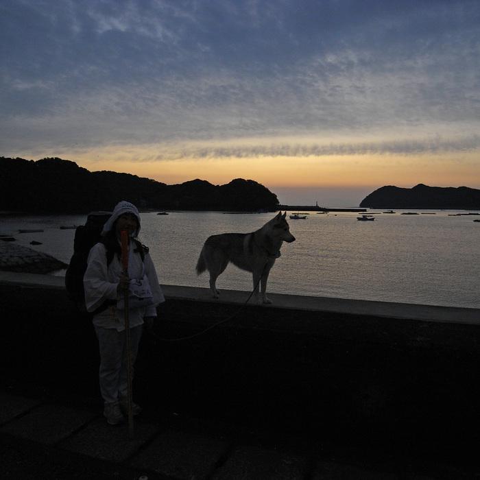 Memory of the second pilgrimage with husky HANA_c0049299_1154962.jpg