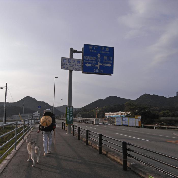 Memory of the second pilgrimage with husky HANA_c0049299_1156235.jpg