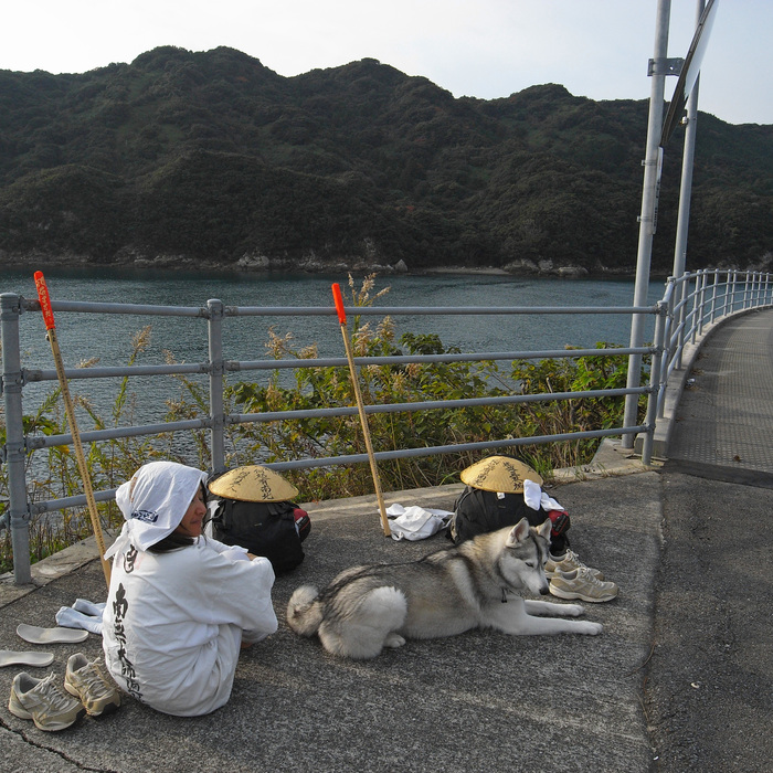 Memory of the second pilgrimage with husky HANA_c0049299_1156474.jpg