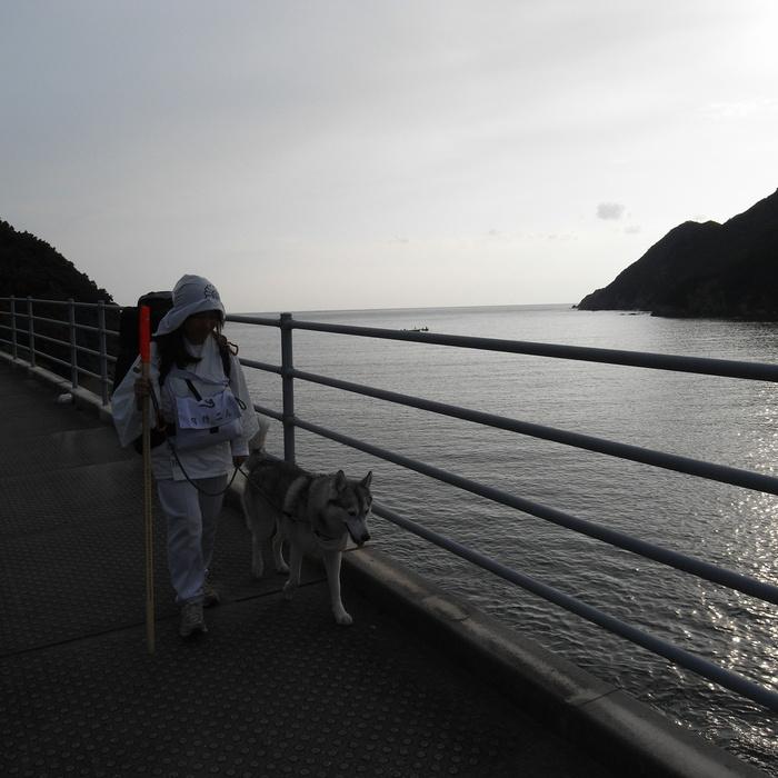 Memory of the second pilgrimage with husky HANA_c0049299_11571492.jpg