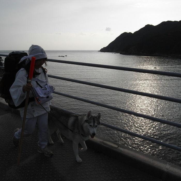 Memory of the second pilgrimage with husky HANA_c0049299_11573100.jpg