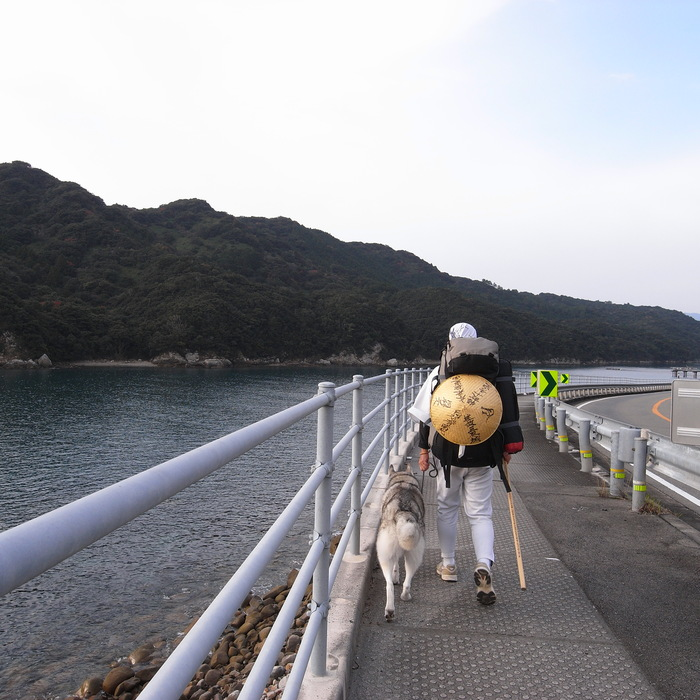 Memory of the second pilgrimage with husky HANA_c0049299_1158972.jpg