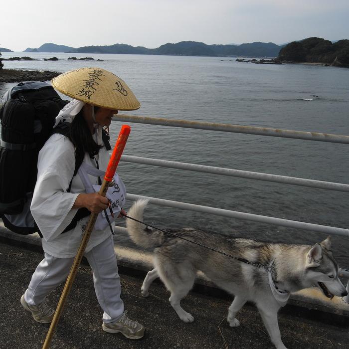 Memory of the second pilgrimage with husky HANA_c0049299_1159571.jpg