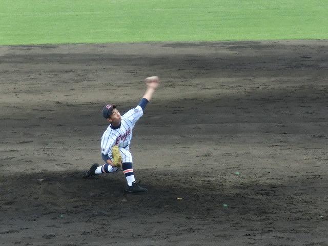 富士市立は初戦に快勝 夏の高校野球県大会_f0141310_7431511.jpg