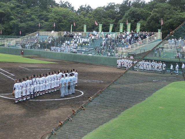 富士市立は初戦に快勝 夏の高校野球県大会_f0141310_7432955.jpg