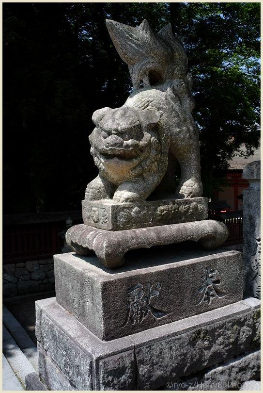 狛犬コレクション~宮島#4~X-E1_e0063851_955132.jpg