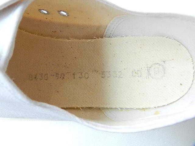 U.K army white canvas shoes size9 !!!!!_f0226051_1222461.jpg