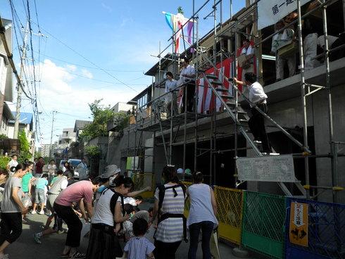 唐湊の住宅が上棟を迎えました!_d0174072_10305069.jpg
