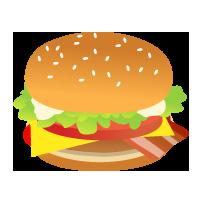 7.24 手作りお得バーガーのお弁当_e0274872_199341.png