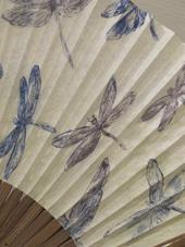 栫 美奈子 銅版画と銅版画の扇子展 最終日です_c0218903_833558.jpg