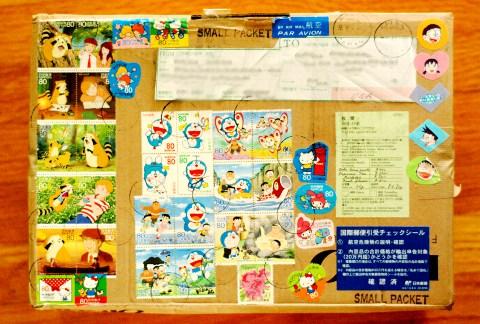 ラスカル、ふたたび!日本からの小包。_b0253205_6273274.jpg