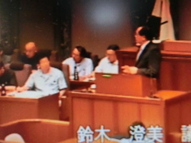 会派を代表して鈴木すみよし県議が代表質問 静岡県議会をネット中継で傍聴_f0141310_7303976.jpg